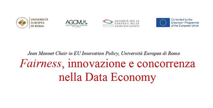 Fairness Innovazione E Concorrenza Nella Data Economy